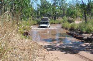15-06-18 El Questro, Water Crossing