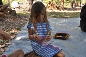 15-07-08 Waradjin weaving 2
