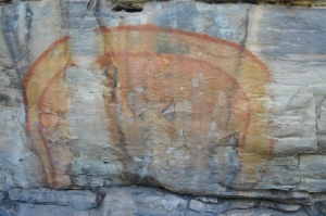 15-07-12 Ubirr, Rainbow Serpent 1